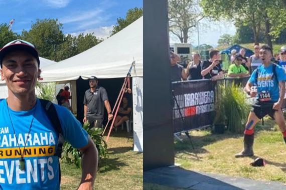 Gumboot-Clad Runner Completes 100 Miler With 1,600 Burpees Along the Way